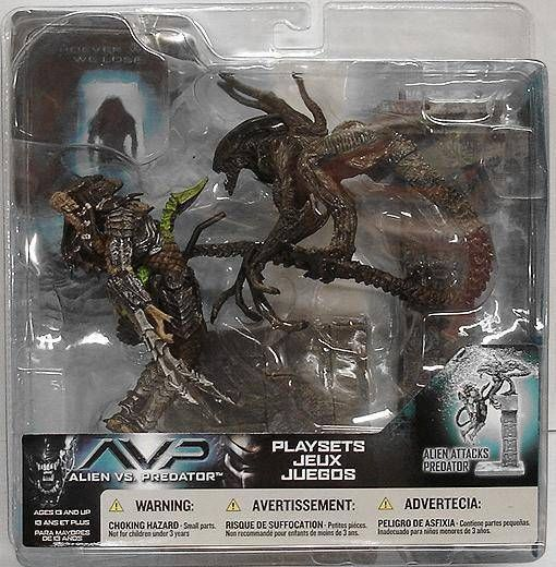 McFarlane - Alien vs Predator series 2 - Alien attacks Predator