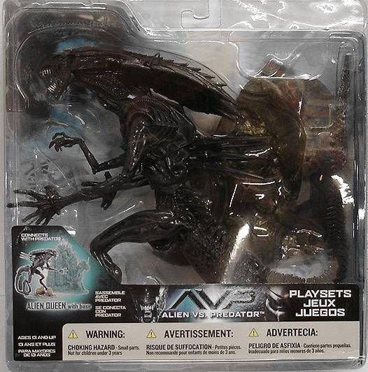 McFarlane - Alien vs Predator series 2 - Alien Queen with base