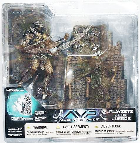 McFarlane - Alien vs Predator series 2 - Predator with base
