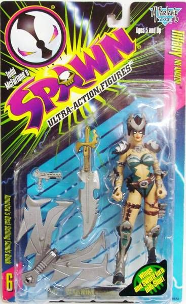McFarlane\\\'s Spawn - Series 06 - Tiffany the Amazon (repaint)