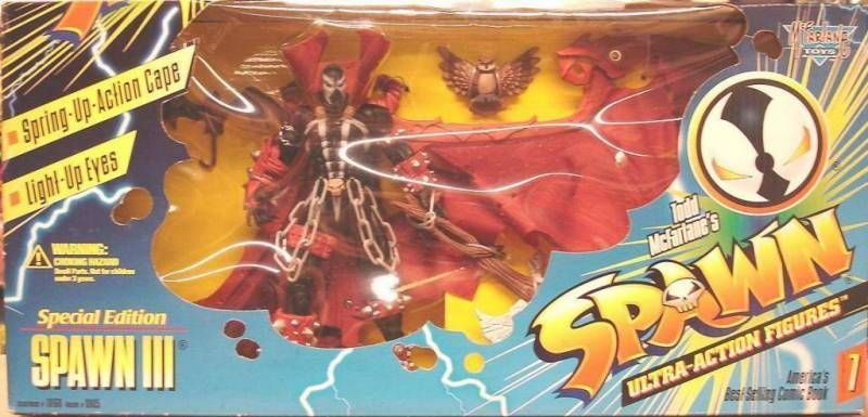 McFarlane\'s Spawn - Series 07 - Spawn III (with owl)