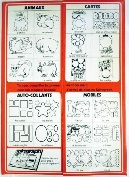 Meccano - Spirograph Drawing Case - Mobiles