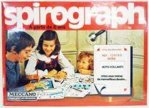 Meccano - Spirograph Etui de Dessins - Auto-Collants