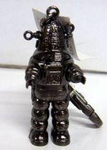 Medicom Forbidden planet metal keychain