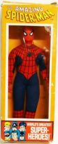Mego World\\\'s Greatest Super-Heroes - Spider-Man (loose with box)