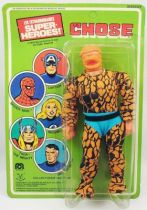 Mego World\'s Greatest Super-Heroes - Thing (La Chose) - neuf sous blister Pin Pin Toys
