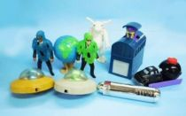 Men in Black (MIB) - Burger King -  Set de 8 Kids Club premium items
