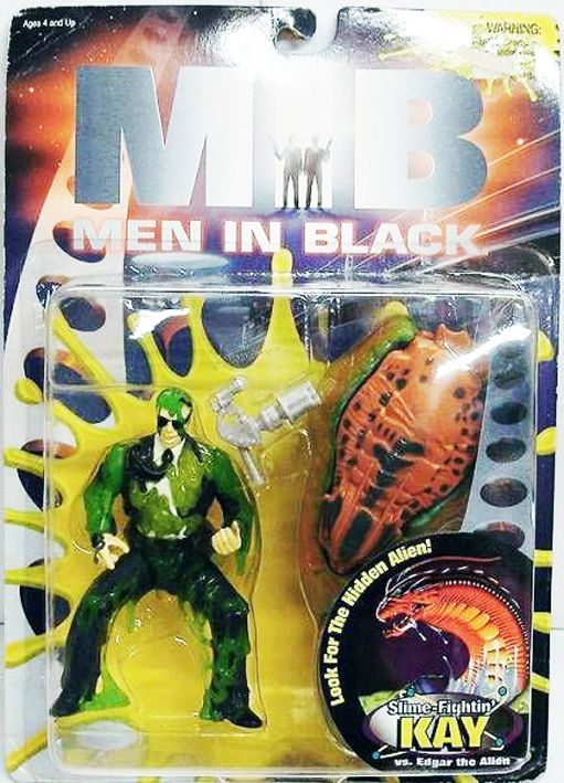 Men in Black (MIB) - Galoob - Slime-Fightin\' Kay