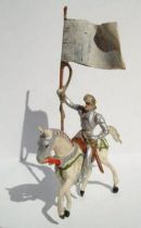 Merten 40mm - Middle Age - Mounted Knight Flag holder