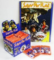 Message from Space - AGE Stickers collector book with stickers box - San Ku Kaï