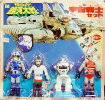Message from Space - Vinyl Action-figure 4-pack Popy Japan