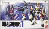 Metal Armor Dragonar - Bandai Soul of Chogokin XS-06 Dragonar-1 with Cavalier