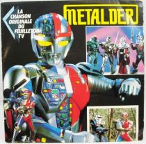 Metalder - Disque 45Tours - Bande Originale du feuilleton Tv - AB Kid 1990