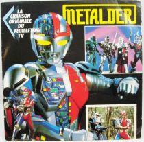 Metalder - Disque 45Tours - Bande Originale du feuilleton Tv - AB Kid 1990