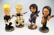 Metallica - Head Knockers NECA - James, Lars, Robert & Kirk 01