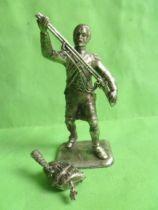 M.H.S.P. - Napol�on et son �tat major - Pi�ton Grenadier de la Garde levant son fusil