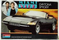 Miami Vice - Monogram plastic model kit - Daytona Spyder
