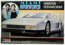 Miami Vice - Monogram plastic model kit - Ferrari Testarossa
