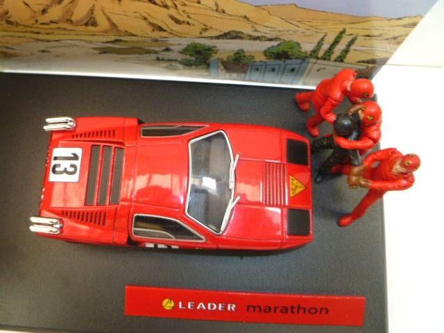 Michel Vaillant Jean Graton Editor Leader Marathon Diecast Vehicle - Scale 1:43 (Mint in Box)