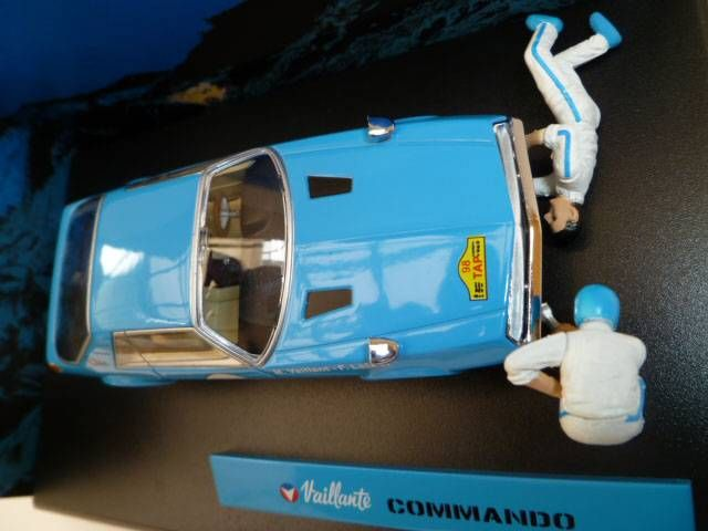 Michel Vaillant Jean Graton Editor Vaillante Commando Diecast Vehicle - Scale 1:43 (Mint in Box)