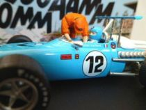 Michel Vaillant Jean Graton Editor Vaillante F1-1970 Diecast Vehicle - Scale 1:43 (Mint in Box)