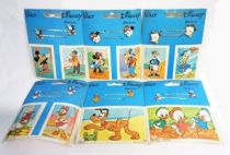 Mickey & Friends - Set of 6 vintage hair clip displays - Delcia