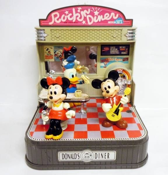 Mickey & Friends - Takara - Donald\'s Diner (Sound Activated Play-Along Show Toy)