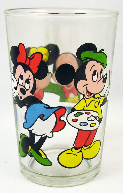 Mickey & Minnie - Verre à moutarde Ducros