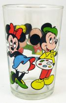 Mickey & Minnie Mouse - Ducros Mustard glass