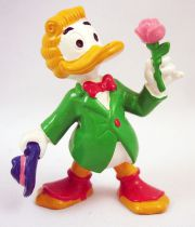 Mickey and friends - Bully 1984 PVC Figure - Gladstone Grander (painted hair)