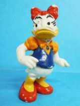 Mickey and friends - Bully 1985 PVC Figure - Daisy