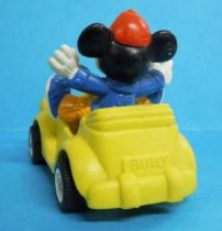 Mickey and friends - Bully 1986 PVC Figure - Mickey in car