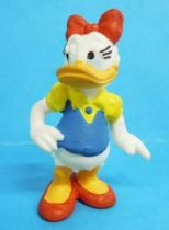 Mickey and friends - Bully 1988 PVC Figure - Daisy