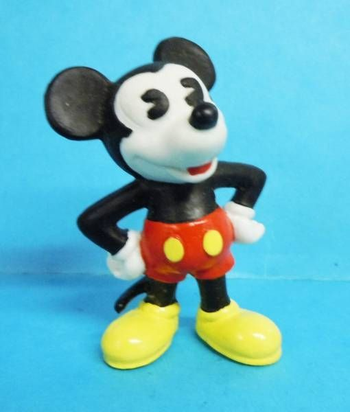 Mickey and friends - Bully 1988 PVC Figure - Mickey \'\'classic\'\'