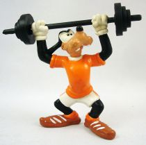 Mickey and friends - Bully PVC Figure - Goofy pumping iron