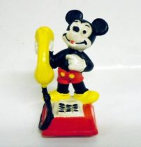 Mickey and friends - Bully PVC Figure - Mickey Phone