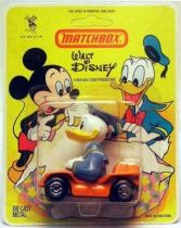 Mickey and friends - Die-cast Vehicle Matchbox - Donald in Buggy (mint on card)