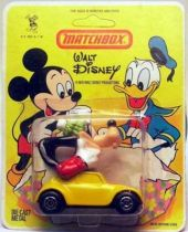 Mickey and friends - Die-cast Vehicle Matchbox - Goofy in VW Cox (mint on card)