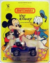 Mickey and friends - Die-cast Vehicle Matchbox - Mickey in Jeep (mint on card)