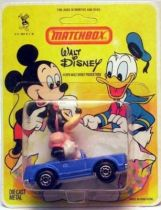 Mickey and friends - Die-cast Vehicle Matchbox - Minnie in car (mint on card)