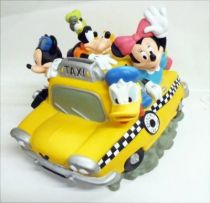 Mickey and friends - Disney Vinyl Bank - Mickey & Friends in Duck Cab
