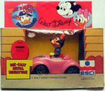 Mickey and friends - ESCI Die-cast Vehicle - Minnie\\\'s car
