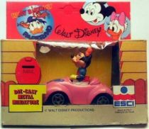 Mickey and friends - ESCI Die-cast Vehicle - Minnie\'s car