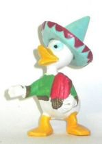 Mickey and friends - Jim Plastic Figure - louie mexican (blue hat)