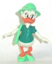 Mickey and friends - Kinder Premium Collapsible Plastic Figure - Daisy with water bottle
