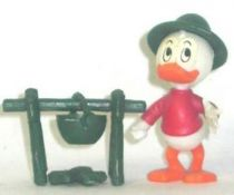 Mickey and friends - Kinder Premium Collapsible Plastic Figure - Dewey camp fire