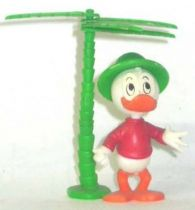 Mickey and friends - Kinder Premium Collapsible Plastic Figure - Dewey palm tree