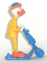 Mickey and friends - Kinder Premium Collapsible Plastic Figure - Gyro Gearllose with motorised skies