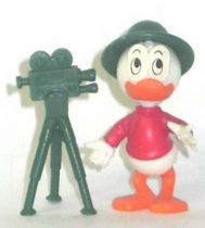 Mickey and friends - Kinder Premium Collapsible Plastic Figure - Louie camera