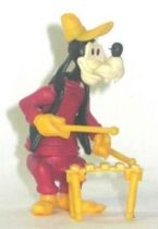Mickey and friends - Kinder Premium Collapsible Plastic Figure -Goofy with xylophone